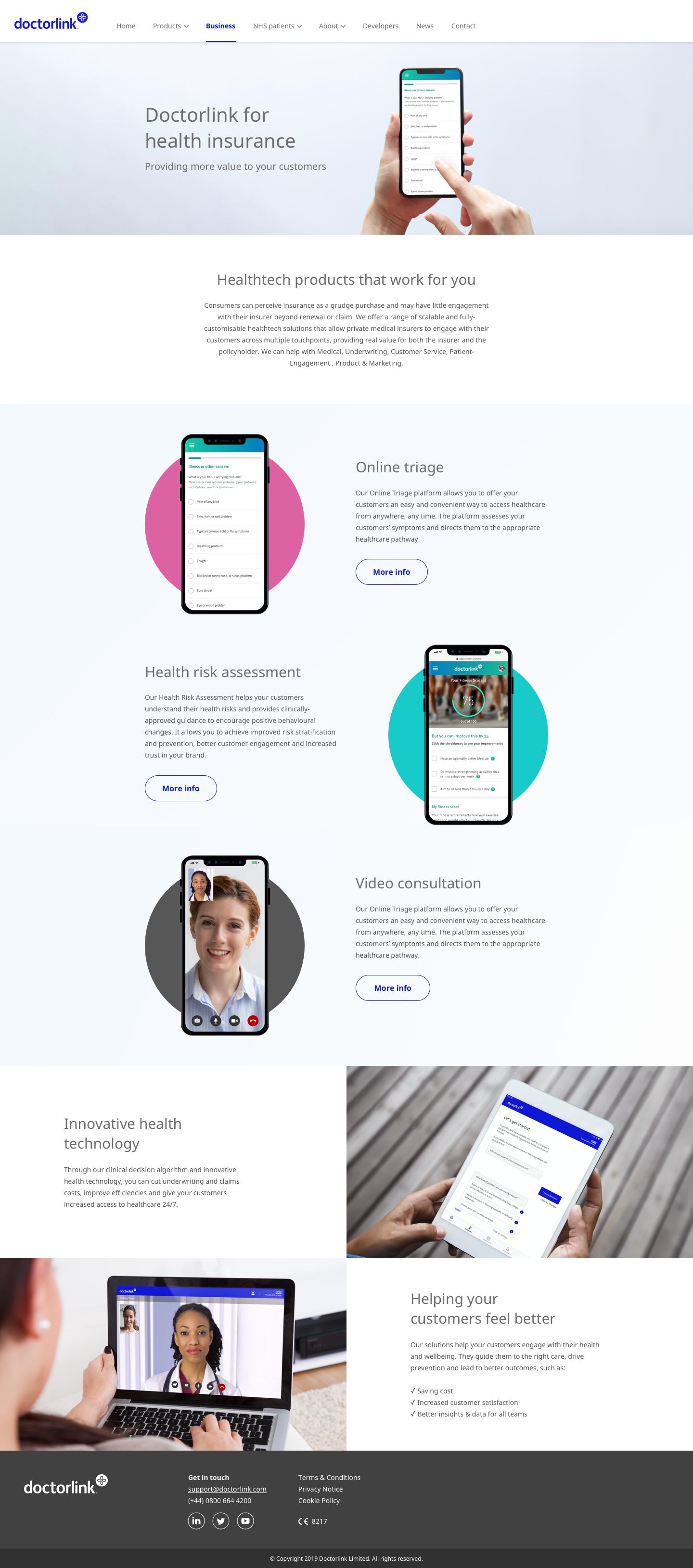 Health insurance (Desktop)